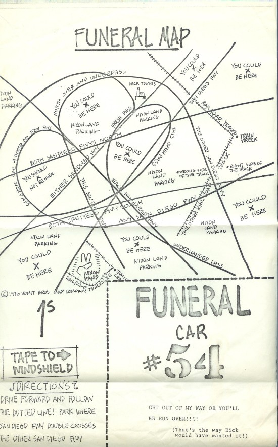 Funeral Map